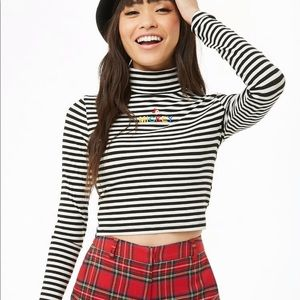 Forever 21 Disney collection Mickey Turtleneck top